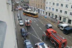 Мощный взрыв прогремел в жилом здании в центре Варшавы